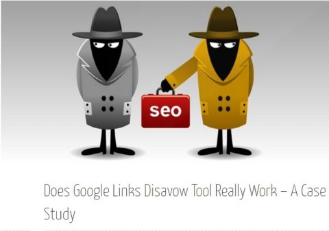 Does Google Links Disavow Tool Really Work – A Case Study 6